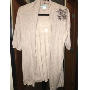 Maurices Sweaters - Maurices Embroidered Cardigan